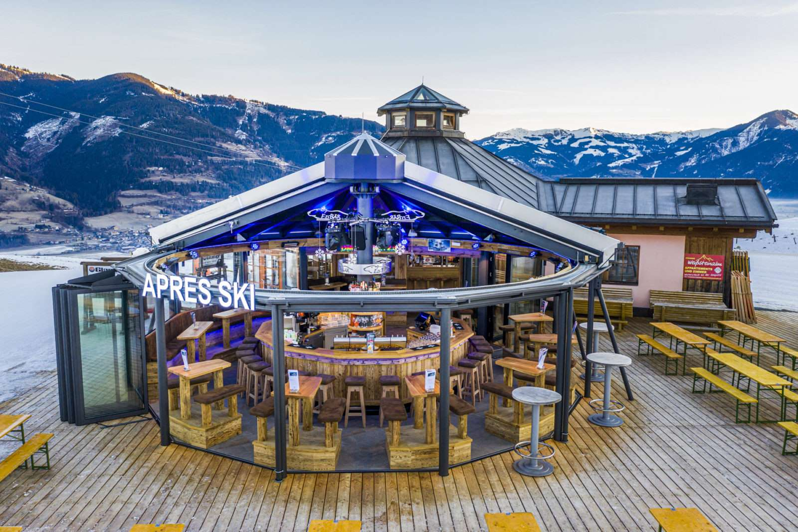 Open Air Apres Ski - Eisbär Bar Kaprun