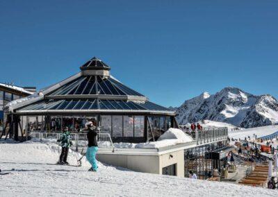 Schneekristall Pavilion – Stubaier Gletscher