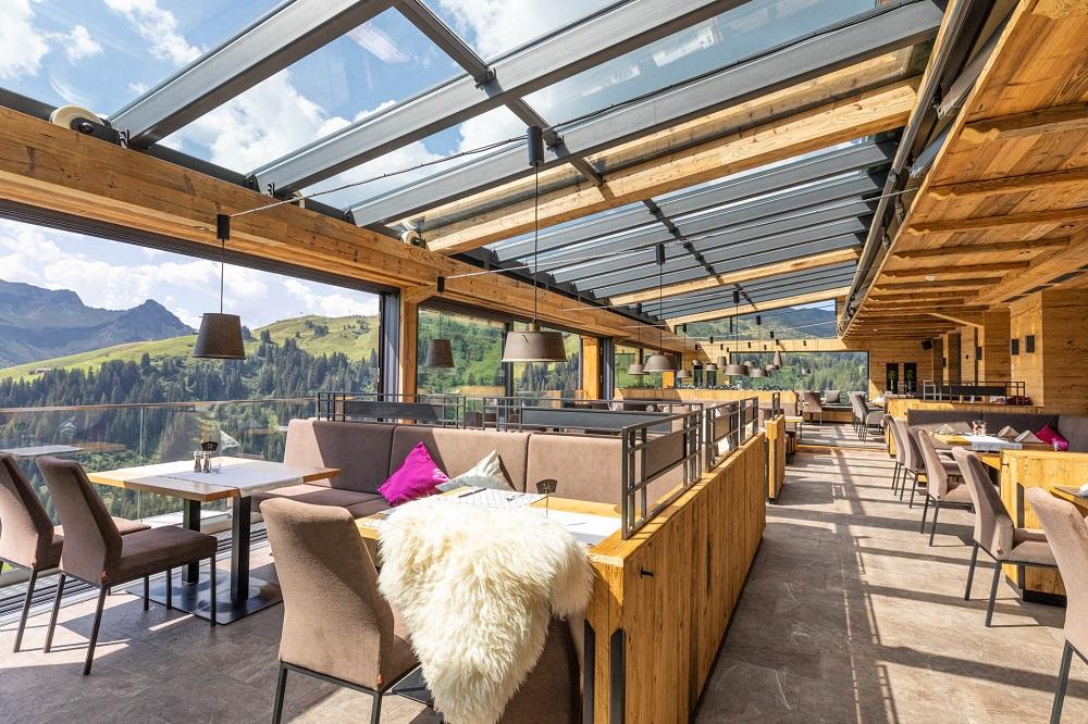 Open Air Restaurant - Hotel Gasthof Walisgaden